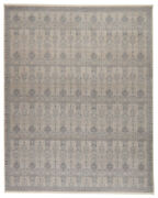 Jaipur Living Beaumont Trellis Blue/ Cream Area Rug 7and03910x9and03910