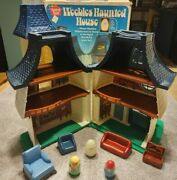 Weebles Haunted House Set 1976 Hasbro With Original Box Please Read