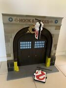 Ghostbusters Firehouse Diorama Complete Baf Diamond Select Action Figures