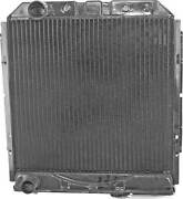 1965-1966 Mustang 3-row Flange-mount Copper/brass Radiator 289 V8 With A/c