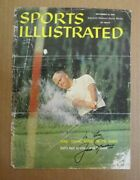 Vintage 1960 Sports Illustrated Cover Signed By Jack Nicklaus Pro Golfer Rare