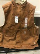 Vest Flame Resistant Fr Sherpa Lined Vest Xl Tall New
