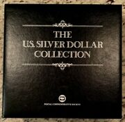 35 Coin Complete Morgan And Peace Dollar Us Postal Commemorative Stamp Date Set