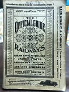 1967 Official Guide Of The Railways And Steam Navigation Lines And Airline Schedule
