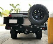 Rear Bumper With Swing Out For Toyota Hilux Revo Dobinsons