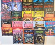 Shivers Scream Street Spookesville Bone Chillers 18 Book Lot Pike Spencer
