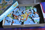 """Vintage Milton Bradley Puzzle 2 Sided 1975 United States And World Map 20 X 14"""""""