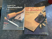 Projects For Woodworkers Vol. 1 And 2 Woodworker's Journal Pb 1992, 135 Projects