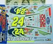 Slixx 1/24 Water Slide Decals Nascar Chevy 24 Dupont 200 Years Lowe's Pepsi