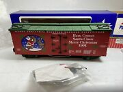Usa Trains 1990 Christmas Reefer Car Peace And Freedom For All G Scale