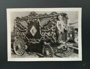 Circus Antique Carved Wagon Vintage Photo Velox