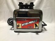 Vintage Vitamix Commercial Vita-mixer Maxi-4000 Stainless Base Unit Only