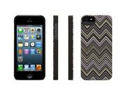 Griffin Gb35559 Chevron Hard-shell Case For Iphone 5 - Black