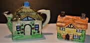 Vintage Beswick English Cottage Ware 244 And A Teapot From Japan Please Read Page