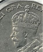 1929 5 Cents Circulated Coin. Buy The Coin You See.