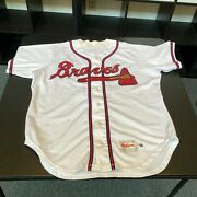 Bobby Cox 1996 Atlanta Braves Game Used Jersey With Dave Miedema Coa
