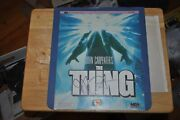 The Thing Rca Ced Laser Disc Signed By John Carpenter