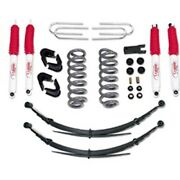 Tuff Country 24716kn Suspension Lift Kit 1978-79 Ford Bronco 4wd Lift Front 4 /