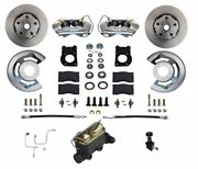 Leed Brakes Fc0001-h405a Front Disc Brake Kit 1964.5-1966 Ford Mustang W/automat