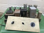 Antique 1940s Dual 45 Tube Amplifier From Record Cutter Utc Pa 132 Transformer