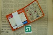 Soviet Russian Nuclear Attack Civil Defense First Aid Kit Ai-2 Collectible Z57