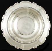 Antique C1925 And Co Sterling Silver Georgian Form Centerpiece Bowl 12