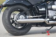 Hattech Exhaust - Cannonball R18 Silencer With Attachments For Die Bmw
