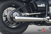 Exhaust Gunball 25 Silencer Kit For Bmw R18 Brushed With Anlauffarben An