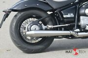 Exhaust Gunball 100 Silencer Kit For Bmw R18 Brushed With Anlauffarben A