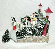Department 56 2000 Village Animated Holiday Singers 52505 Choir, Works Perfect