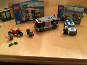 Lego Bank And Money Transfer 3661.lego City, 100 Complete
