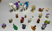 Lot Of 20 Different Lego Friends Animals Ref 1