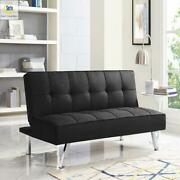 3-seat Multi-function Upholstery Fabric Futon Multifunctional Multiple Colors