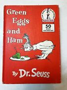 Green Eggs And Ham By Dr. Seuss 1960 Hardcover Book - Rare