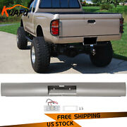 Steel Rear Bumper Roll Pan W/led License Plate Light For 1995-2004 Toyota Tacoma