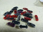 17 N Scale Vehicles/ Lot Of 25 Cars