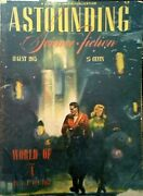 Astounding Science Fiction Pulp Aug 1945sci-fi 2 Others Sold For 30 And 40