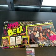 Saved By The Bell Tv Show Cast Signed Vintage Game 4 Sigs Dustin Diamond Jsa Coa