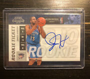2010 Panini Playoff Contenders James Harden Rookie Auto Clean Auto