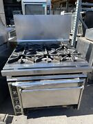 Jade Range 6 Burner With Convection Oven Natural Gas