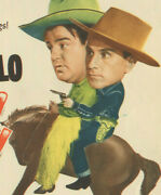 Abbott And Costello Ride Em Cowboy Lobby Card Movie Poster 1942 Re-release 1949