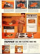 Tappan Gas And Electric Ranges Vintage 1960and039s 8.5 X 11.25 Magazine Ad M29