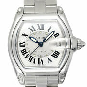 Auth Watch Roadster Lm W62000v3 Automatic Case 39mm Date Arm18cm F/s