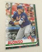 2019 Topps Holiday Pete Alonso 065 Sp Socks