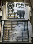 Richards Osteo Multi-systems Large Bone Plates In Hard Metal Case Gently Used