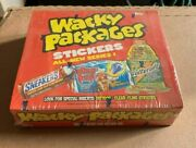 Topps Wacky Packages Ans1 2004 All New Series Box