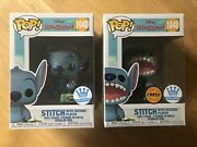 Funko Pop Stitch Exclusive Chase And Common Set