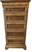 Ethan Allen Tuscany High Chest / Lingerie Chest 32-5314 In 333 Chianti Finish