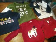 Guc Huge Lot Gymboree Puppy Dogs Outfit Lot 2t Boys Jeans Hat Overall Shirts Wow