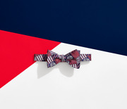 Brooks Brothers X Fila Doubles Reversible Silk Bow Tie